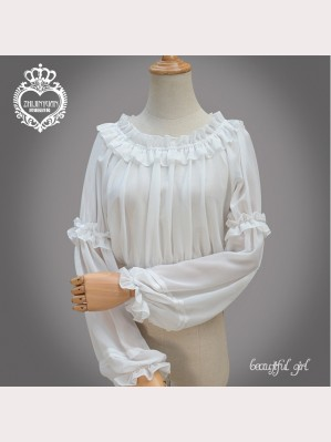 Cropped Lolita Long Sleeves Blouse