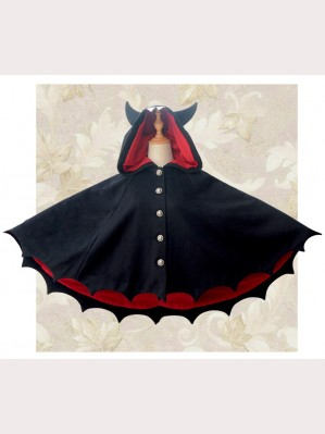 Devil Bats Hooded Cloak (K05)