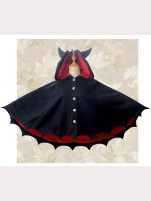 Devil Bats Hooded Cloak (K05)