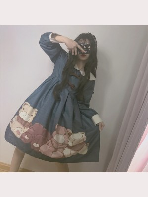 Soft Bears Lolita Dress OP