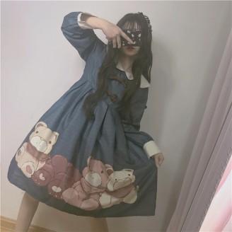 Soft Bears Lolita Dress OP