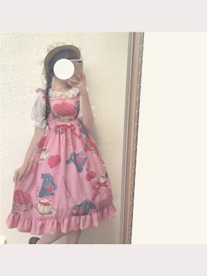 Cherry Rabbit Lolita Dress JSK