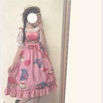 Cherry Rabbit Lolita Dress JSK