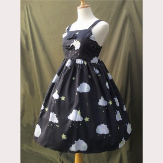 Fishing Star Rabbit Lolita Dress JSK - Deisgn 2