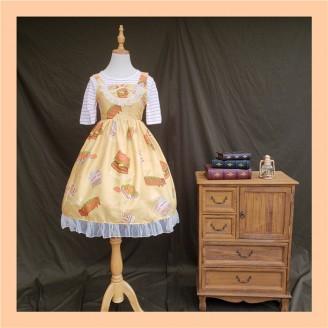 Happy Food Lolita Dress JSK