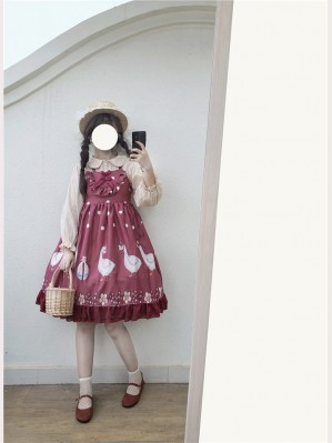 Ducks & Polka Dots Lolita Dress JSK