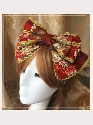 The Garden of Paradise Lolita Headbow KC (K003)