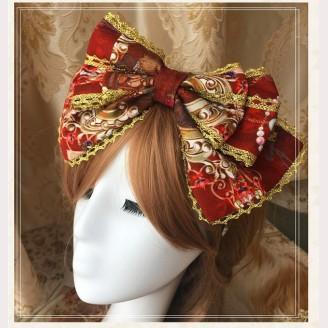 The Garden of Paradise Lolita Headbow KC (K003)