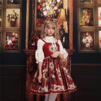 The Garden of Paradise Lolita Dress JSK (K001)