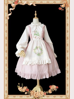 Infanta Tessa's Strawberry Lolita Dress JSK