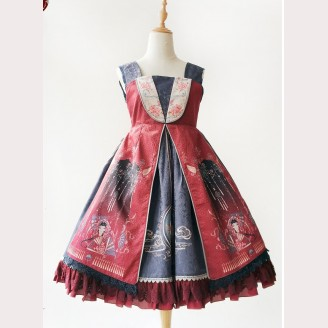 Infanta Liyuan Spring and Autumn Qi Lolita Dress JSK