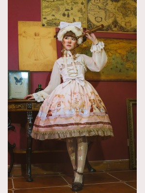 Infanta Astrology bears Lolita Dress JSK & KC Set