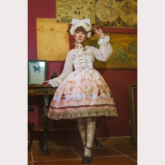 Infanta Astrology bears Lolita Dress JSK