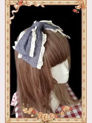 Infanta Royal Mural Lolita Headbow KC
