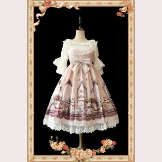 Infanta Royal Rabbit Tea Party Lolita Dress JSK