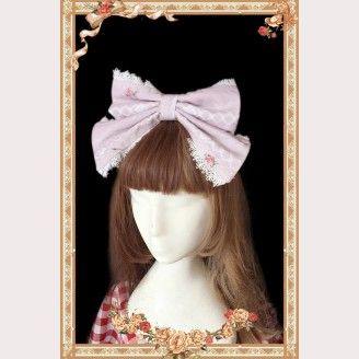 Infanta Royal Rabbit Tea Party Matching Headbow KC