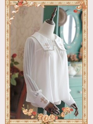 Infanta Cross embroidery lolita blouse
