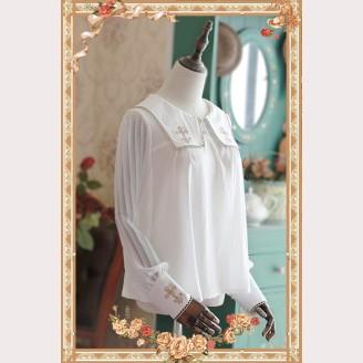 Infanta Cross embroidery lolita blouse