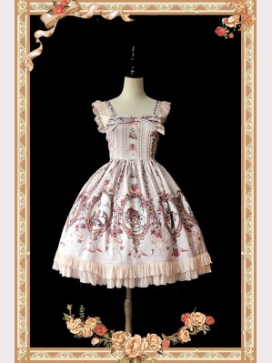 Infanta Cinderella Lolita Dress Mini JSK