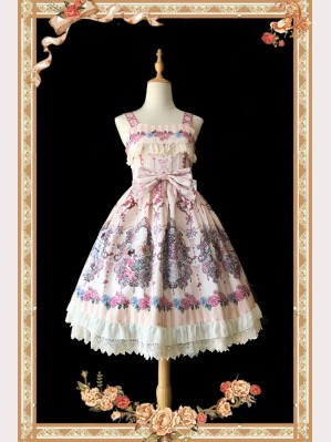 Infanta Flower Elf Lolita Dress JSK & KC Set  (IN17)