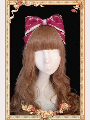 Infanta Flower Elf Lolita Headbow KC