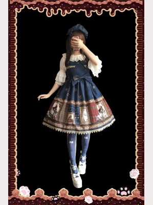 Infanta Magic dictionary Lolita Dress Mini JSK