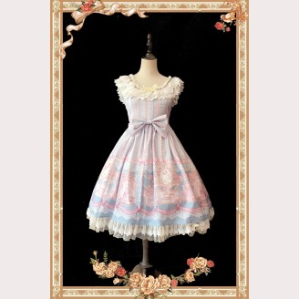 Infanta Queen of Roses Lolita Dress JSK