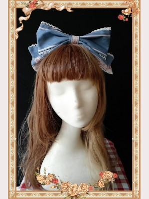 Infanta Queen of Roses Lolita Headbow KC