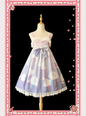 Infanta Rainbow Marshmallow Lolita Dress JSK