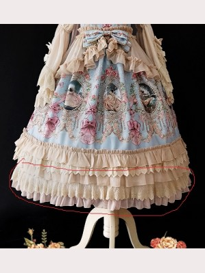 Extending Petticoat for Infanta Fairy Tale Town Dance