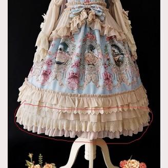 Extending Petticoat for Infanta Fairy Tale Town Dance