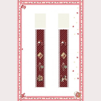 Infanta Candy Town Lolita Stockings