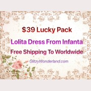 Infanta Lucky Bag Special offer $39 Free Shipping