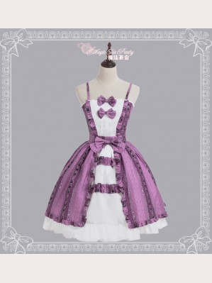 Magic tea party floral lolita dress JSK & KC Set 2018