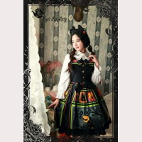 Magic tea party Halloween Spider Web Lolita Dress JSK