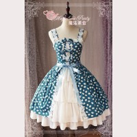 Magic tea party Owl & Rabbit Lolita Dress JSK