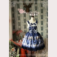 Magic tea party Starry Sky City Lolita Dress JSK