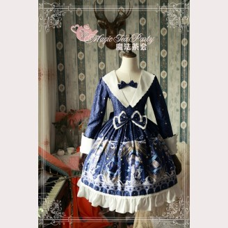 Magic tea party Starry Sky City Lolita Dress OP