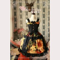 Magic tea party Sunflower lolita dress JSK
