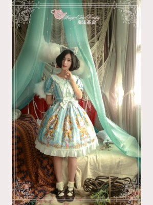 Magic tea party Alice Lolita Dress OP