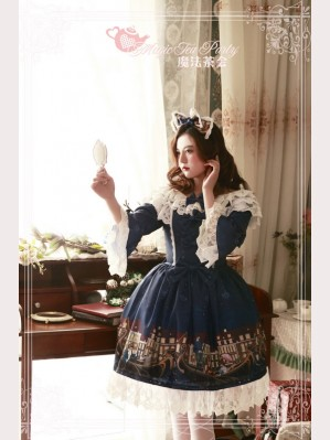 Magic tea party Gondola Lolita Dress OP