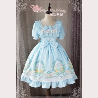Magic tea party The Son of Wind Lolita Dress OP
