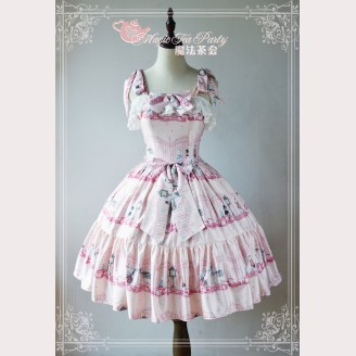 Magic Tea Party Wonderland Quartet Lolita Dress JSK (MTP38)