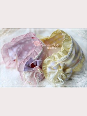 Magic Tea Party Flowers & Birds Lolita Headband