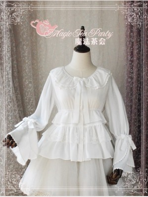 Magic Tea Party Lace Ruffle lolita blouse