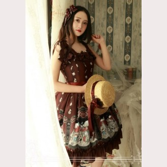 Magic Tea Party Musicians in Bremen town lolita dress JSK