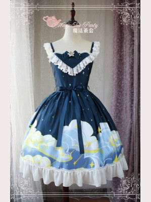 Magic Tea Party Starry Sky Lolita Dress JSK