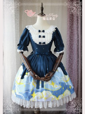 Magic Tea Party Starry Sky Lolita Dress OP