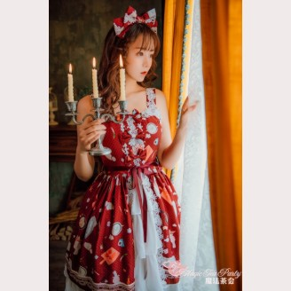Magic Tea Party Sunny Day & Yummy Food Lolita Dress JSK 2