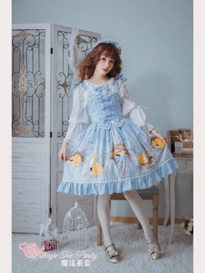 Magic tea party Antonio's Four Seasons lolita dress JSK
